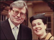 Edward Thomas Downes y su esposa