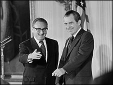 Tổng thống Nixon và ông Henry Kissinger