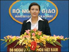 Bà Nguyễn Phương Nga - PNN Bộ Ngoại giao VN