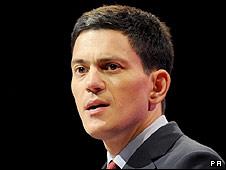 David Miliban, canciller británico