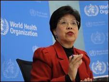 الدكتورة مارجريت تشان، مدير عام منظمة الصحة العالمية