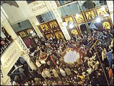 تجمع بكنيسة نجع حمادي