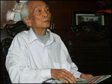 Một bức ảnh năm 2009 của Tướng Giáp