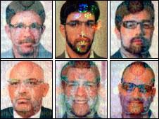 Seis de los once espías del Mossad