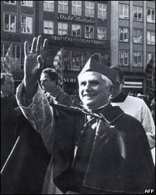 Joseph Ratzinger cuando era arzobispo de Munich