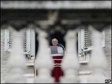 Papa Benedicto XVI en el Vaticano.