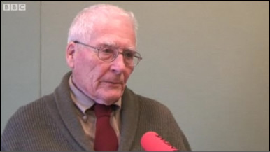 James Lovelock durante entrevista à BBC