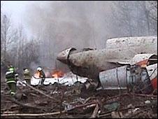 Kecelakaan pesawat tewaskan presiden Lech Kaczynski