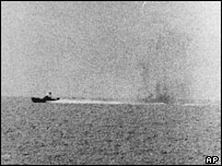 Tàu USS Maddox ở vịnh Bắc Bộ 1964