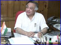 இந்திய வர்த்தக இணை அமைச்சர் ஜெய்ராம் ரமேஷ்