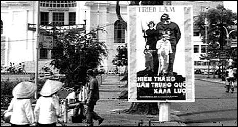 Áp phích chống Trung Quốc ở VN khi cuộc chiến nổ ra