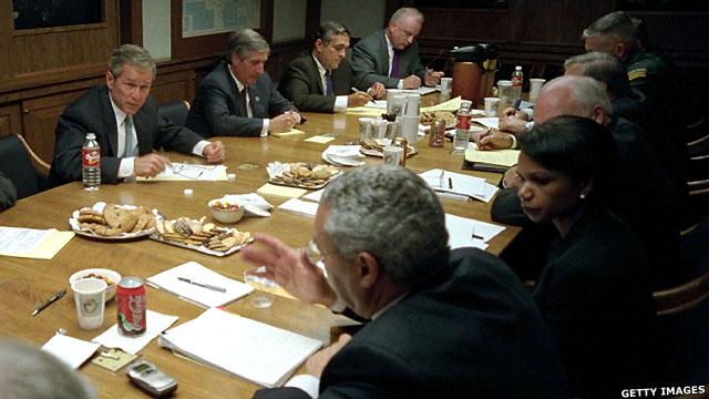 George W Bush và Hội đồng An ninh Quốc gia
