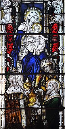 Vitral de la Catedral de Southwark