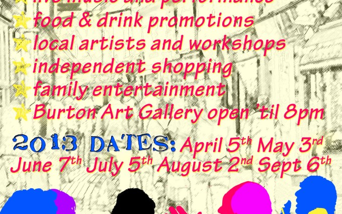 First Fridays Poster 2013