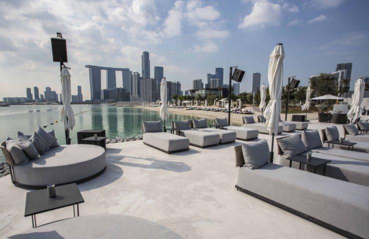 Cove Beach Abu Dhabi at Makers District