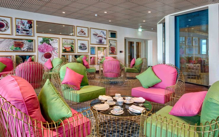 Champagne and Tea Lounge, Dukes The Palm a Royal Hideaway Hotel