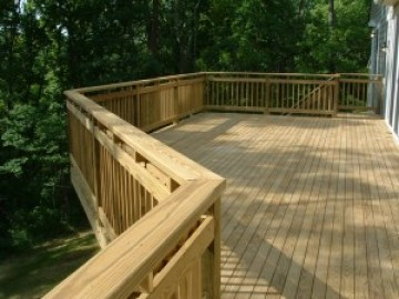 Better Built Construction Wood Deck