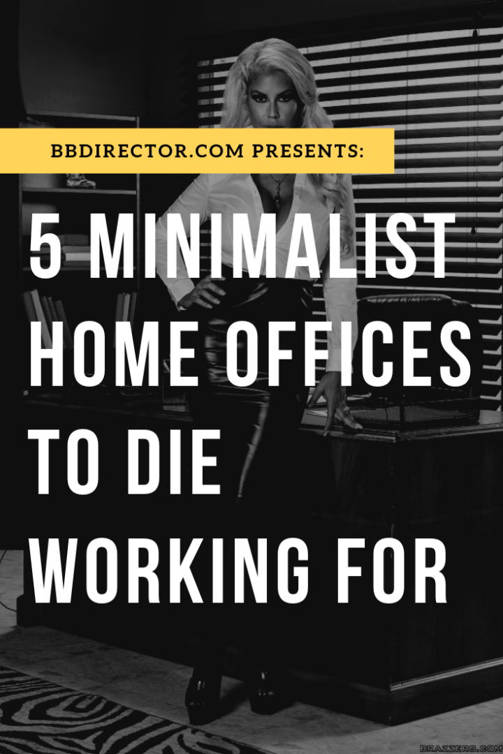 5 Minimalist Home Offices To Die Working For