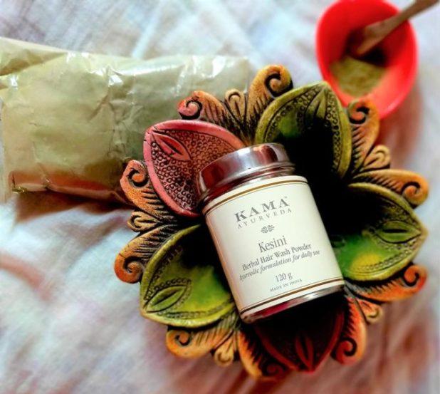 Kama Ayurveda Kesini Ayurvedic Herbal Hair Wash Powder- REVIEW PRICE PHOTOS