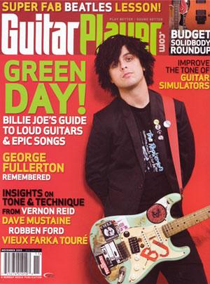 Billie Joe Armstrong - Guitar Player Magazine