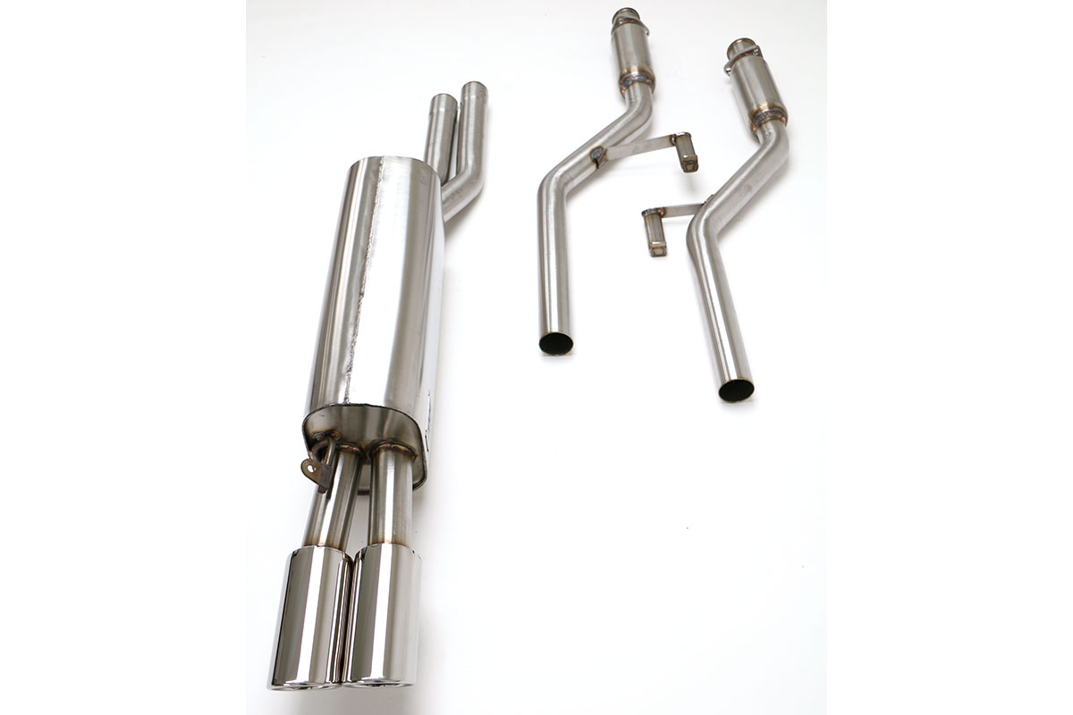 Bmw E28 528 535 Cat Back Exhaust System Round Tips Fbmw
