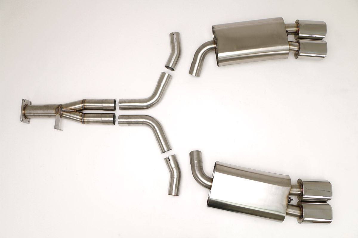 corvette c4 exhaust products billy
