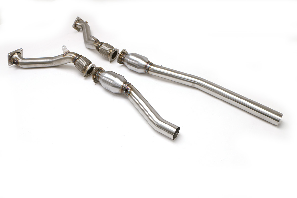 Audi B5 S4 Downpipes With High Flow Cats 2 7t Manual