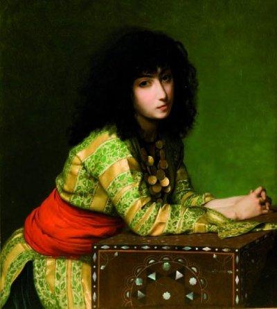 Jean-Léon Gerome - Egyptian Girl (1877)