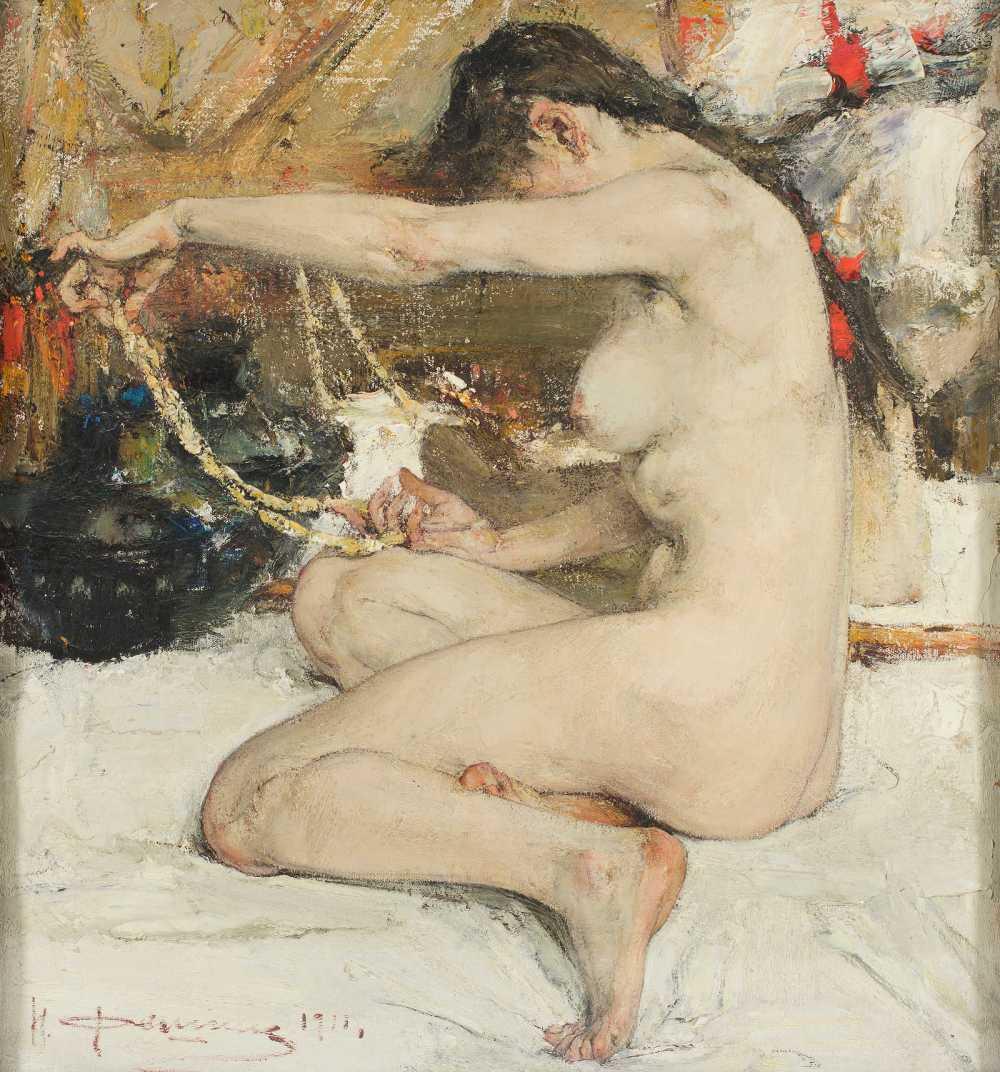 filatov collection fechin 'nude'