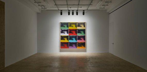 Andy Warhol – Little Electric Chairs (2016) - Adam Lindemann Installation
