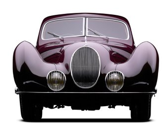 peter mullin car collection teardrop talbot-lago 1935 front