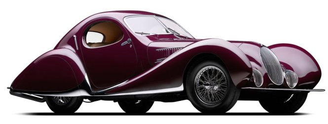 peter mullin car collection teardrop talbot-lago 1935 profile