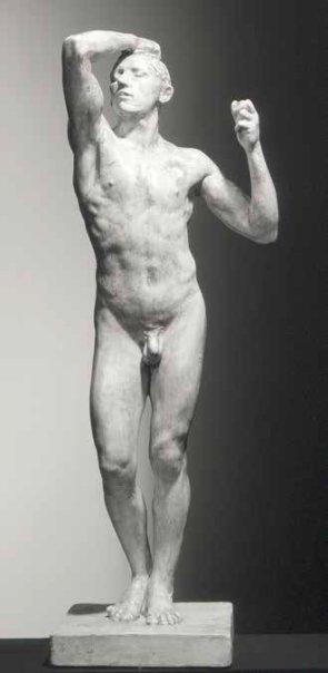 rodin plaster the age of bronze
