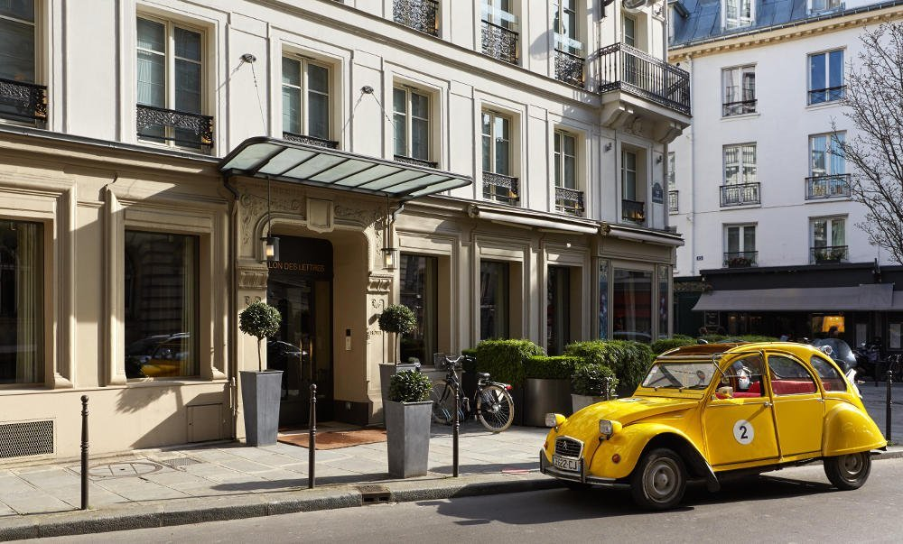 Pavillon des Lettres luxury hotel paris