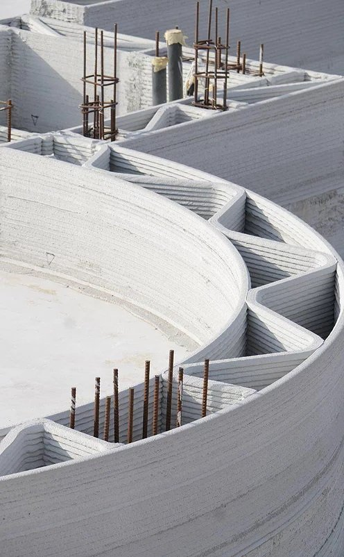 apis cor 3d printing dubai concrete forms