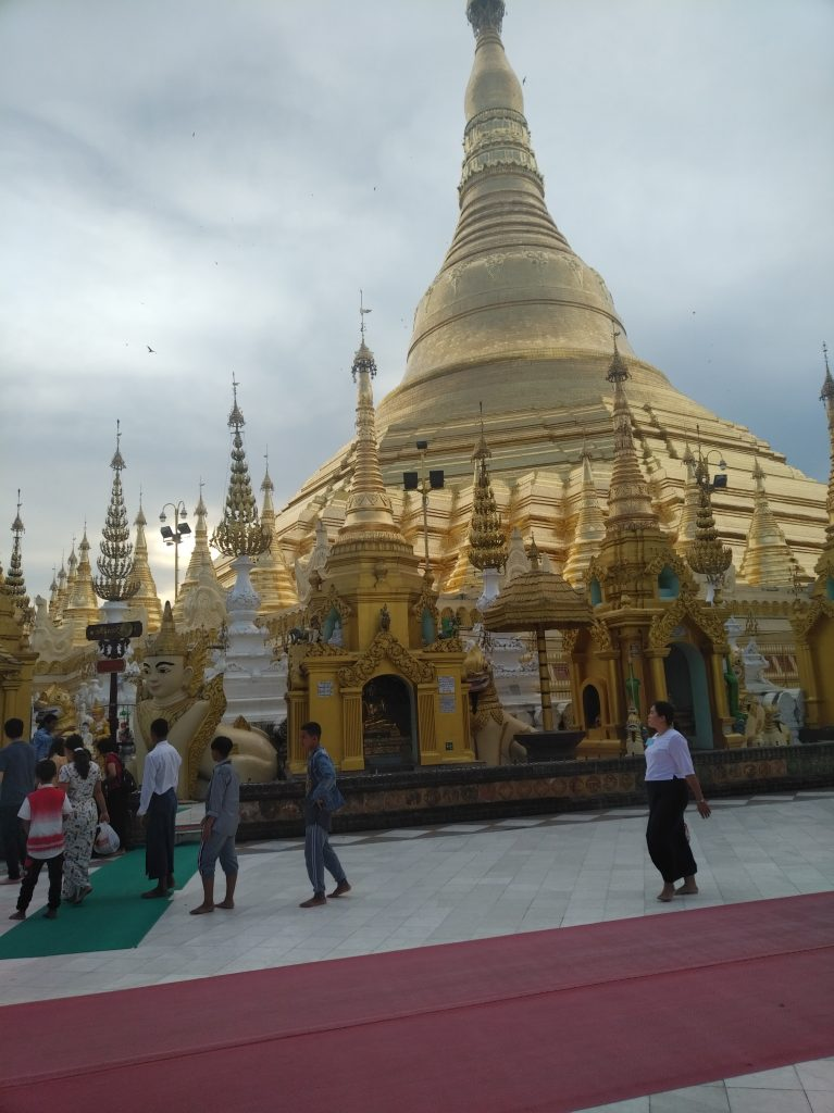 myanmar Shwedagon Pagoda exterior