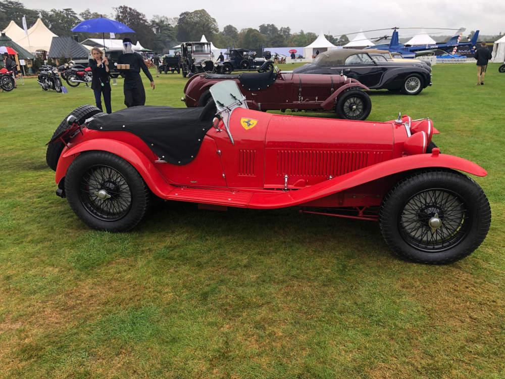 Salon Privé 2020 1931 Alfa Romeo 8C 2300 Spider by Zagato