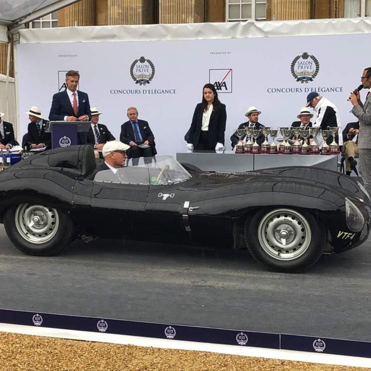 Salon Prive 2020 1955 Jaguar D-type