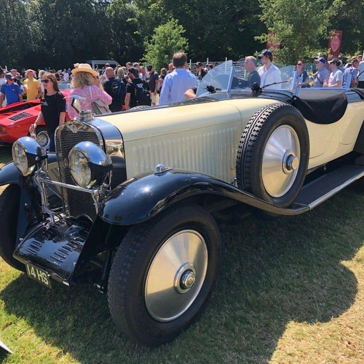 2021 festival of speed 1929 Hispano Suiiza