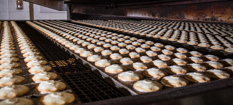 Apple-pie production