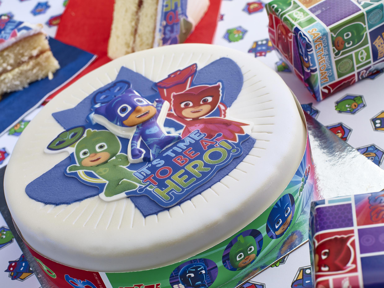 Picture of PJ Masks celebration cake