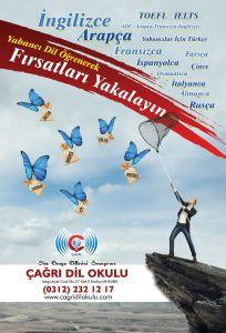 003 Dil Okulu Reklam Tasarimi