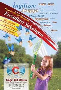 Afiş Reklam Sayfa Tasarımı Grafik Tasarım Şirketi Ankara