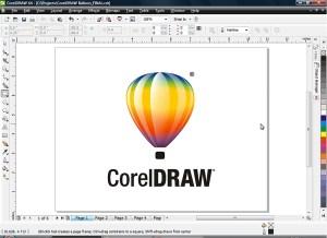 Corel Draw Çalışma alanı