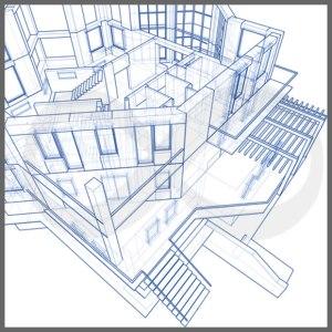 2D-mimari-teknik çizim