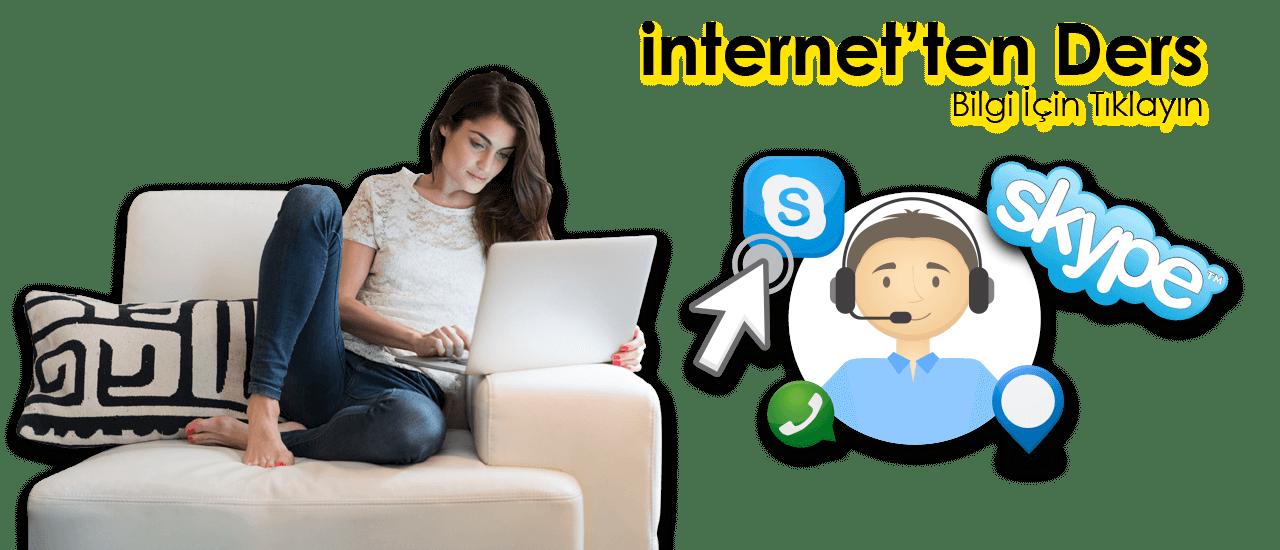 internetten Ders