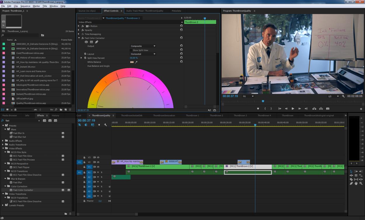 Premiere Pro Kursu Ankara Color Correction