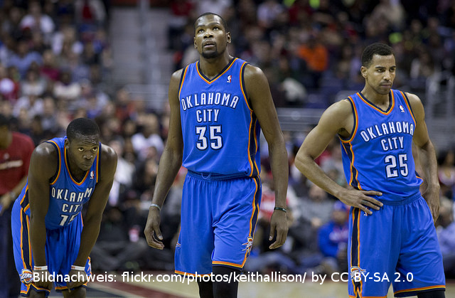 Kevin Durant verliert bei seiner Rückkehr