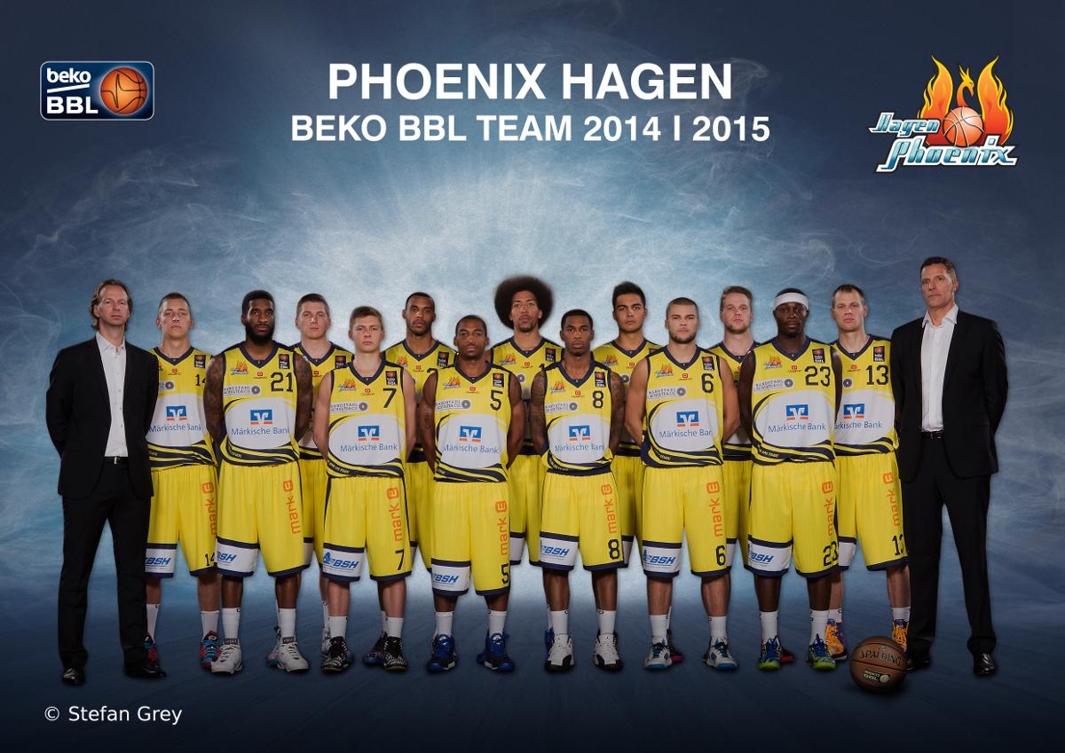 Phoenix Hagen – der Kader für 2014/15