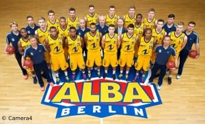 Alba Berlin Team Portrait